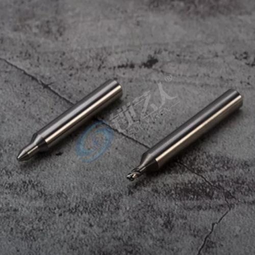锐正步阳钥匙专用铣刀-钨钢φ1.5x65°xφ3.4x3xD6X40L 步阳配钥匙铣刀 锋利精准 专用刀具